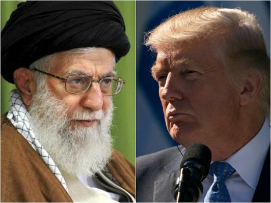 iran-ayatollah-Ali-khamenei-us-president-donald-